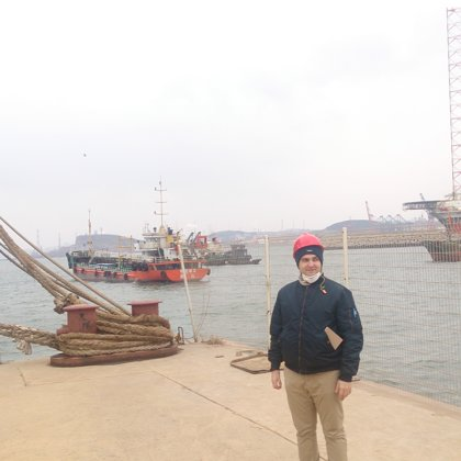 At inspection of Linde Engineering Dalian, China